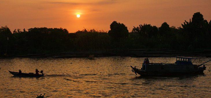 Faire la visite du delta du Mékong au cours d'une excursion en bateau
